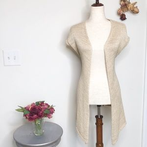 Willi Smith crochet belted duster